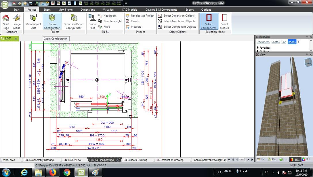 آموزش لیفت دیزاینر 2020